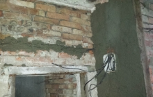 Oprava areálu u zbrojnice pr. místnost