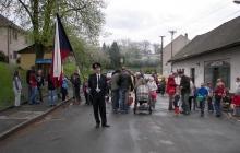 Stavění máje a Vatra 2010