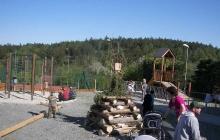 Stavění máje + vatra 2011